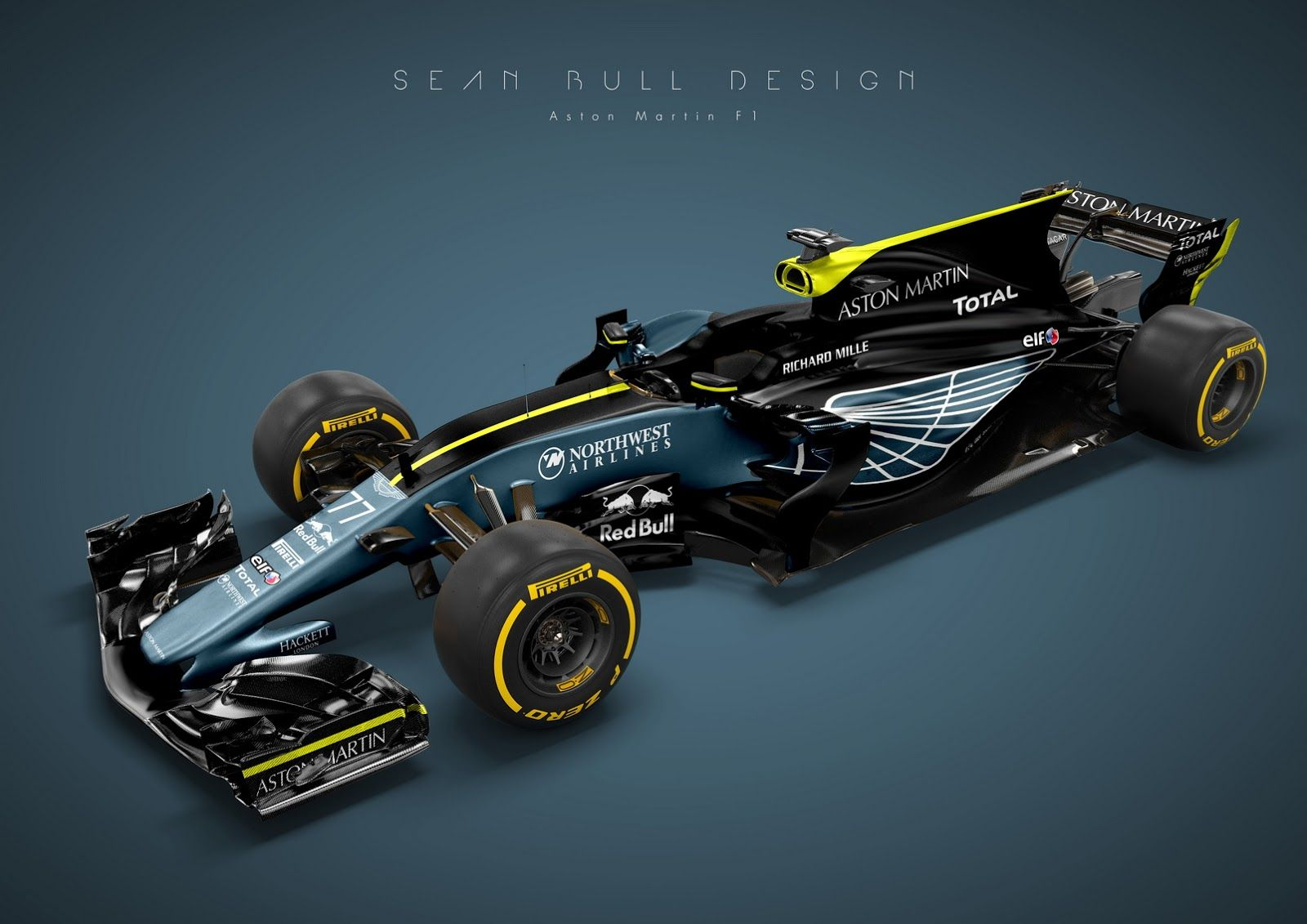 This Is What An Aston Martin F1 Factory Team Could Look Like Carscoops Aston Martin Racing Car Design Aston