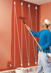 Use A Paint Roller Painting Walls Tips Painting Tips Diy Painting