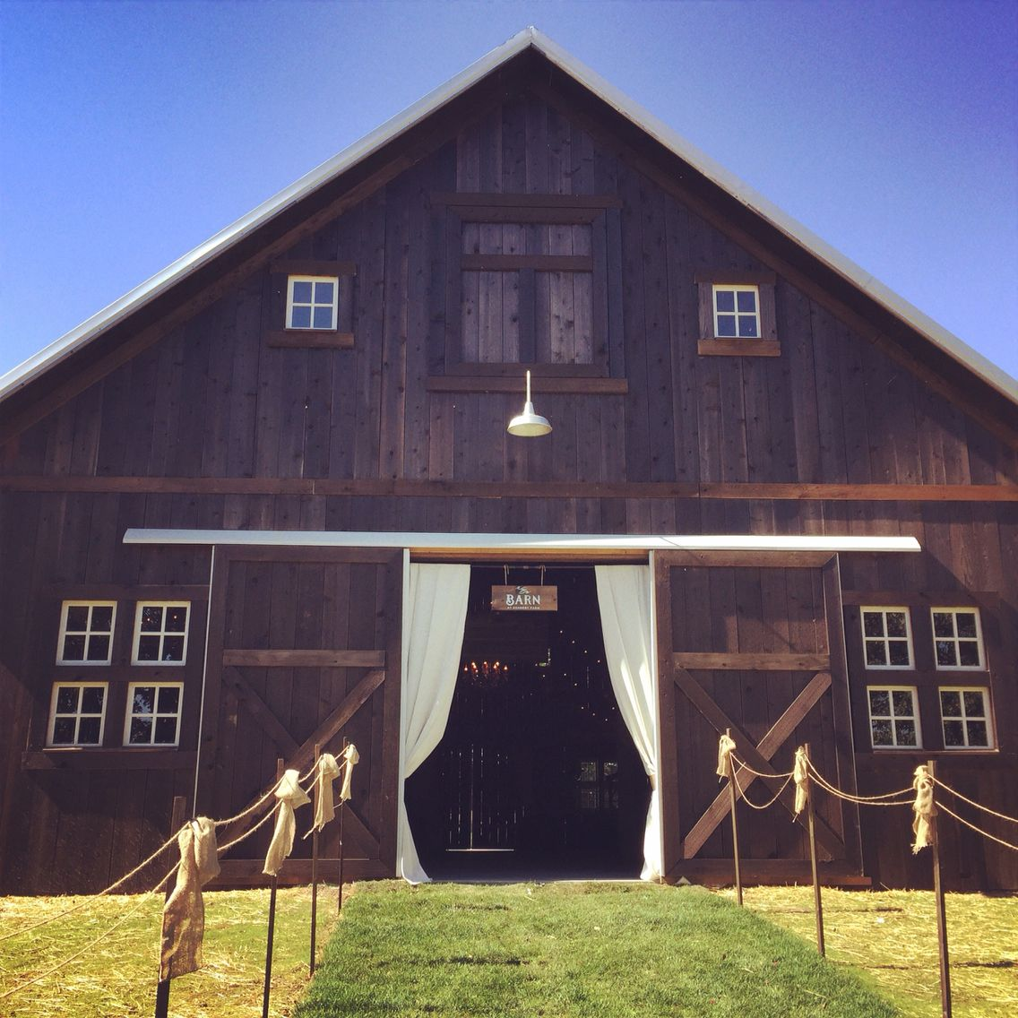 The Barn at Kennedy Farms is a beautiful location for ...