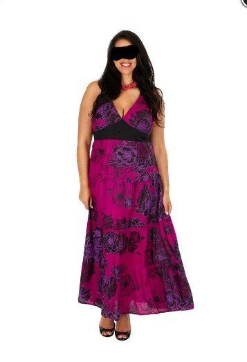 Damen Sommer Kleid - Gr. 44/46-48/50-52/54-56-60 - Damen ...