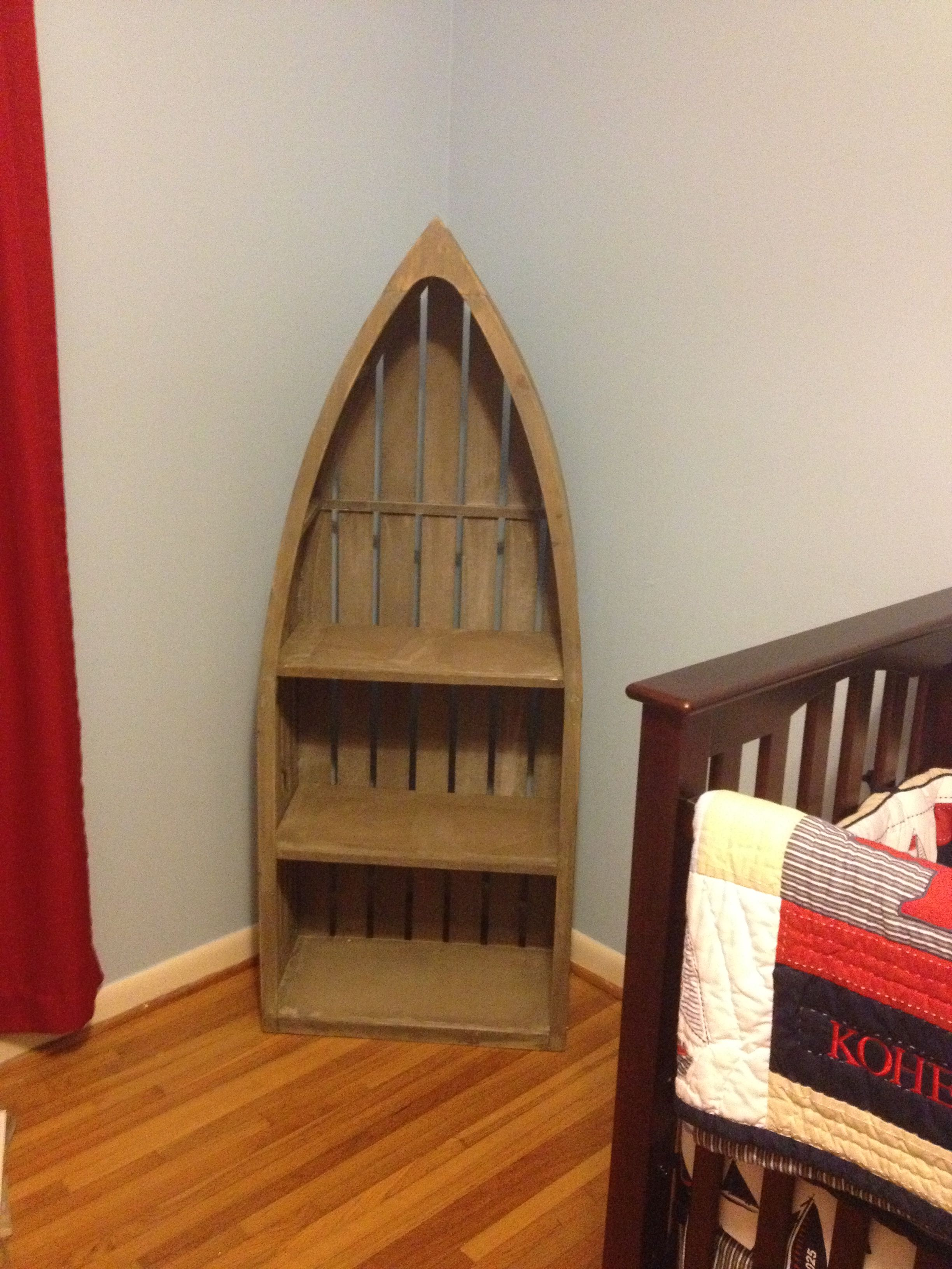 Boat Shelf From Hobby Lobby Boy Room Boat Shelf