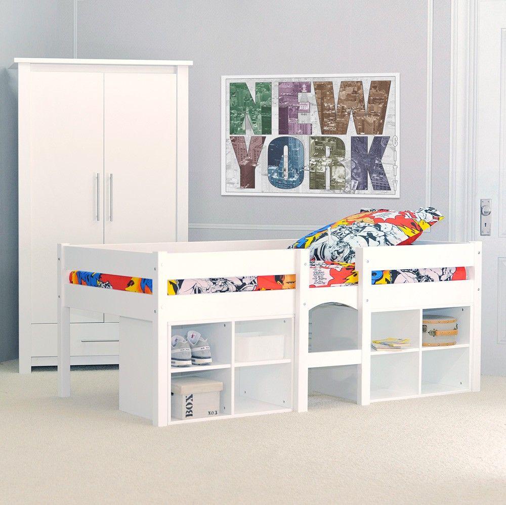 lit mi hauteur lit mi hauteur sur lev pour enfant pas. Black Bedroom Furniture Sets. Home Design Ideas