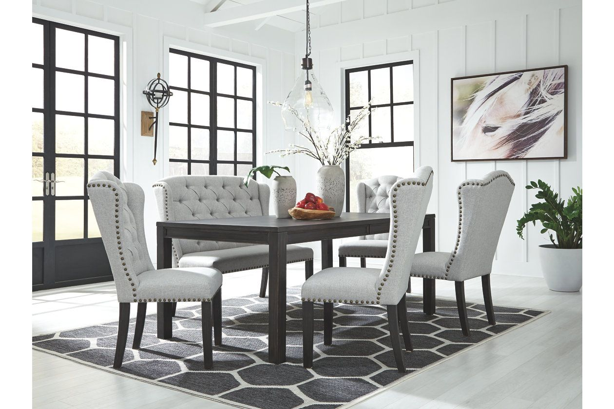 Jeanette Dining Chair Rectangular Dining Room Table Dining Room Bench Dining Room Chairs