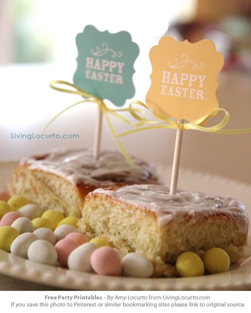 Free Printables for Easter by LivingLocurto.com