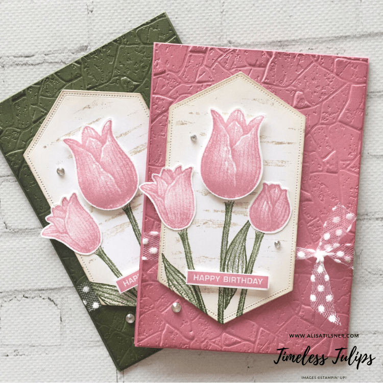 Photo of Shrubs  #stampin #timeless #tulips stampin up timeless tulips, stampin up weihna…