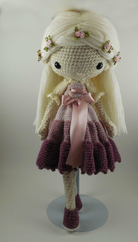 Victoria - Amigurumi Doll Crochet Pattern PDF | Pinterest | Häkeln ...