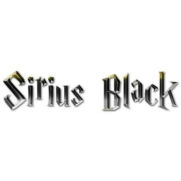 Sirius Black liked on Polyvore featuring harry potter