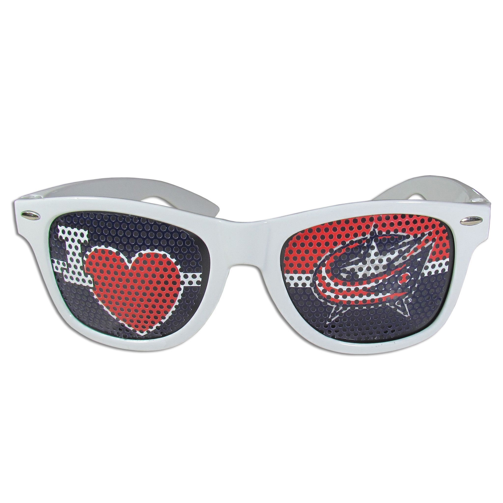 Columbus Blue Jackets I Heart Game Day Shades
