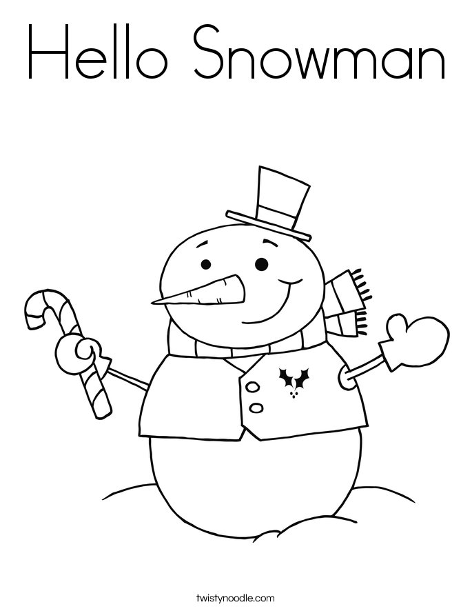 snowman family coloring pages - Google Search | Color Me Happy ...
