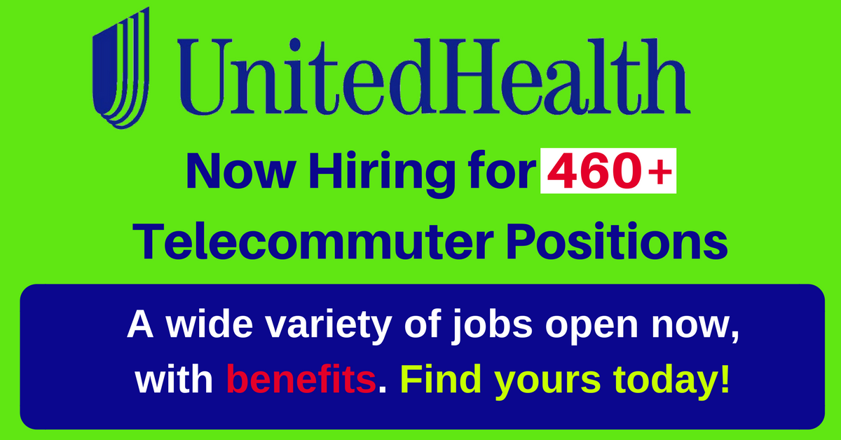 460+ Positions Open with UnitedHealth Group
