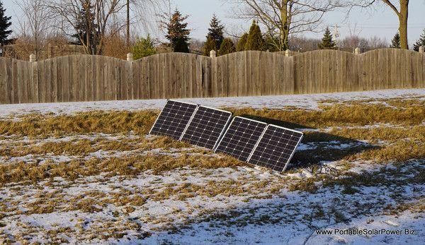 150 Watt Folding Portable Solar Panel Kit Energia Renovable Energia