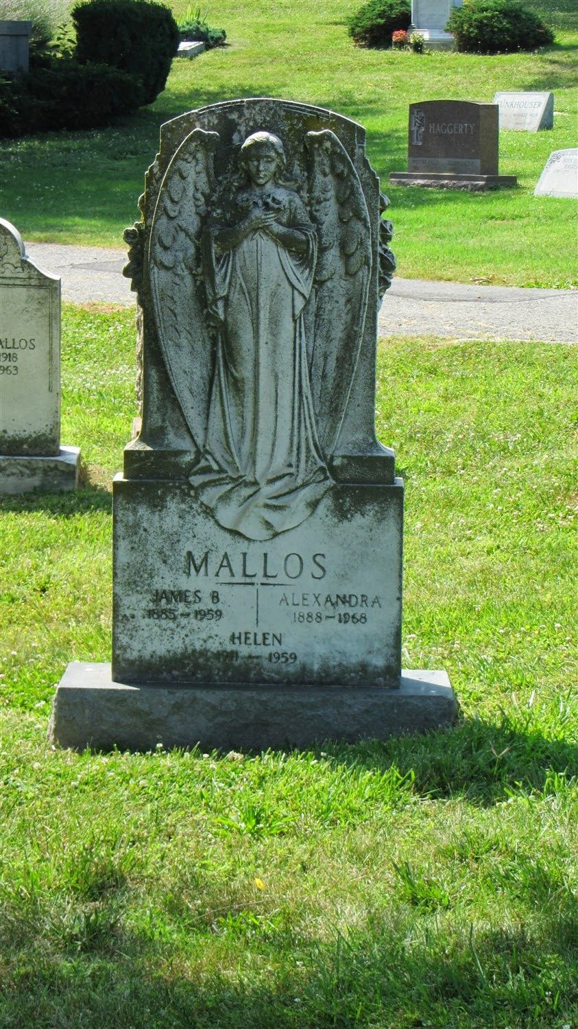 Graveyard Rabbit of Sandusky Bay: Tombstone Tuesday: Mallos Monument at Rock Creek Cemetery
