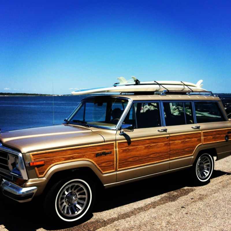 Jeep : Wagoneer wood | Dream cars, Cars and Jeeps