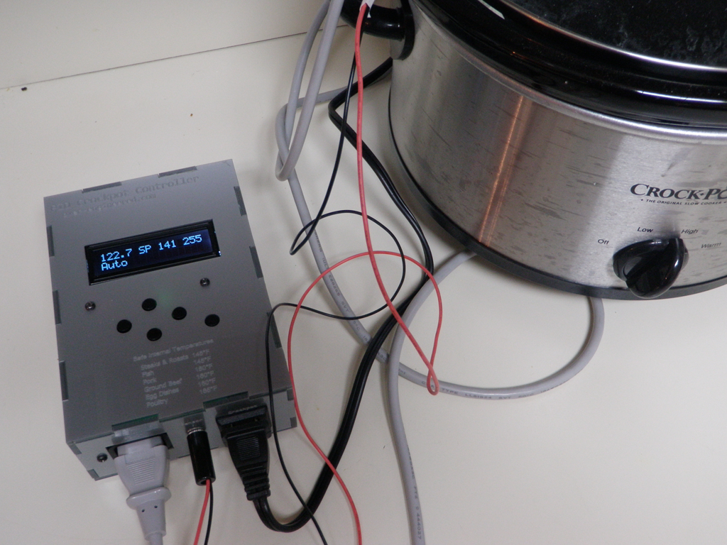Diy Pid Controlled Sous Vide Using A Crock Pot Develop Electric Rice Cooker Automatic Controller Circuit Controlcircuit