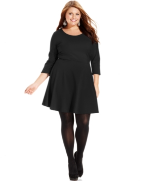 #ING                      #Plus Sizes               #Plus #Size #Dress, #Three-Quarter-Sleeve #A-Line   ING Plus Size Dress, Three-Quarter-Sleeve A-Line                              http://www.seapai.com/product.aspx?PID=5549797