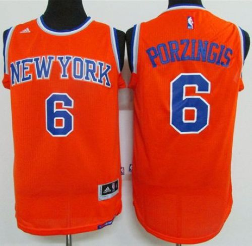 Knicks  6 Kristaps Porzingis Orange Stitched Youth NBA Jersey Jerseys 100%  Stitched And Free Shipping 283a81562