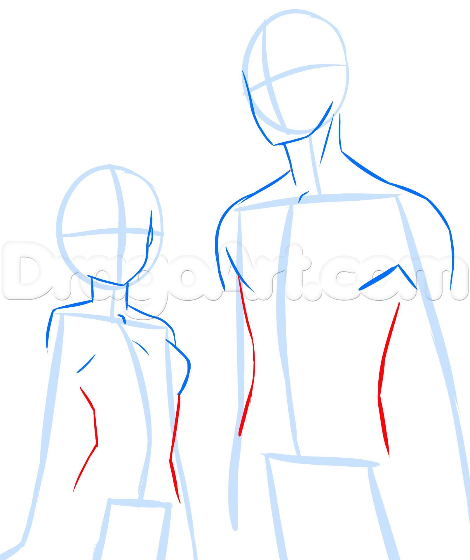 How To Draw Anime Anatomy Step 12 Anime Drawings Body Drawing Tutorial Drawing Anime Bodies