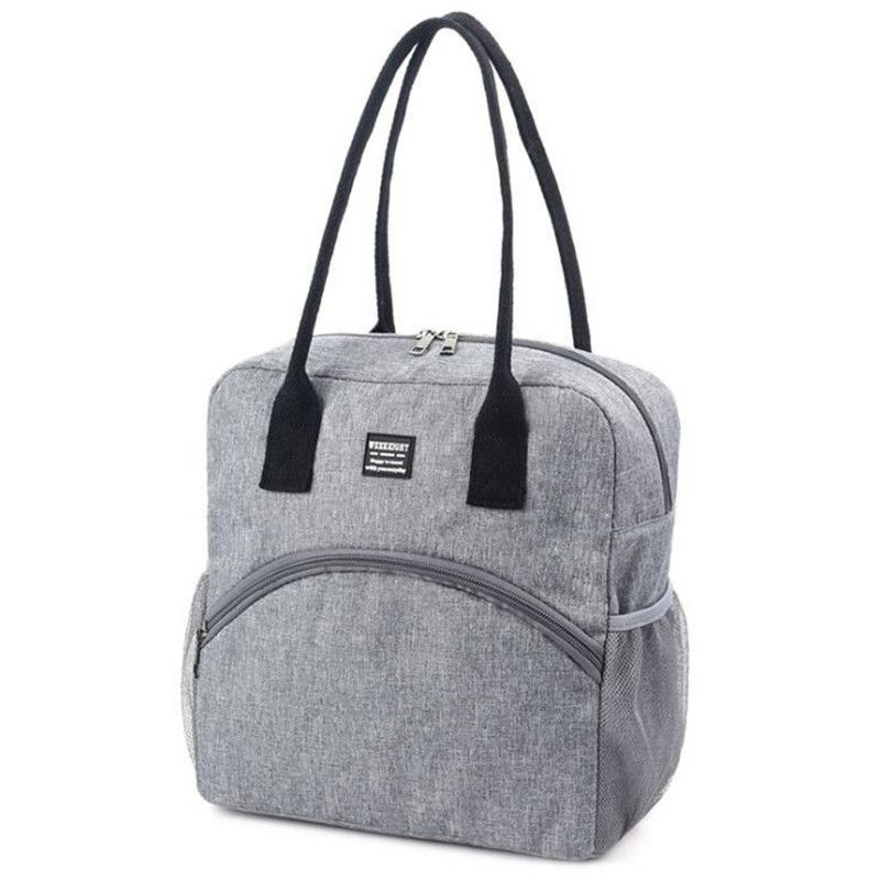 Portable Lunch Bag For Women New Thermal Insulated Lunch Box Tote Cooler Bag Bento Pouches Container