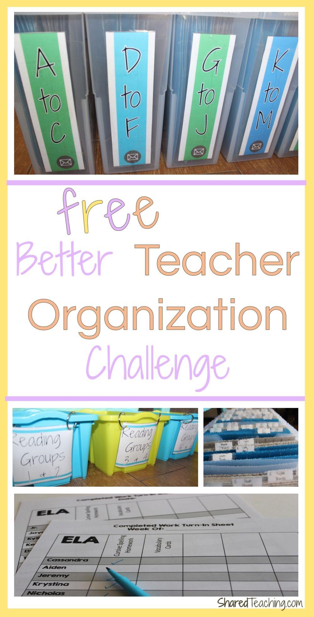 Better Teacher Organization Challenge   The Curriculum