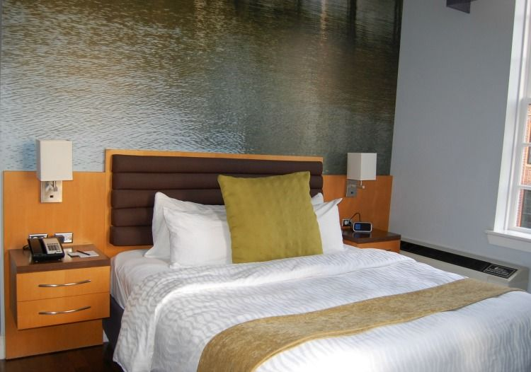 Comfy bed at hotel indigo baton rouge louisiana hotel