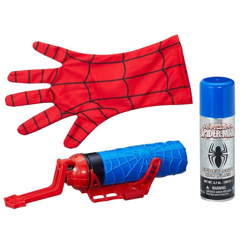 Marvel Spider Man Super Web Slinger Set By Hasbro Marvel Spiderman Spiderman Spiderman Web
