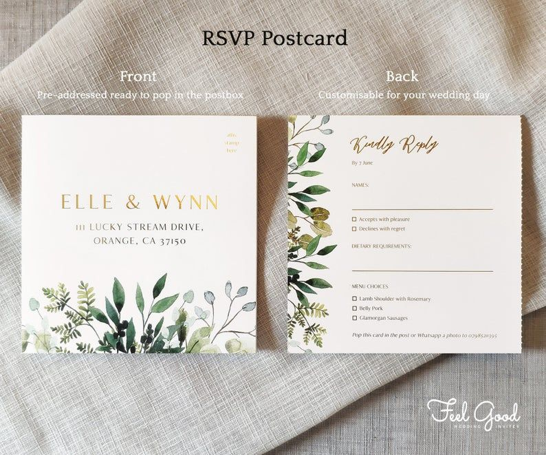 Unity Foil Wedding Invitations & Save the date or Change