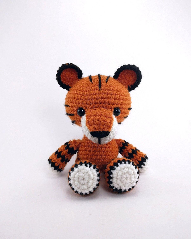PATTERN: Toby the Tiger - Crochet tiger pattern - amigurumi tiger ...