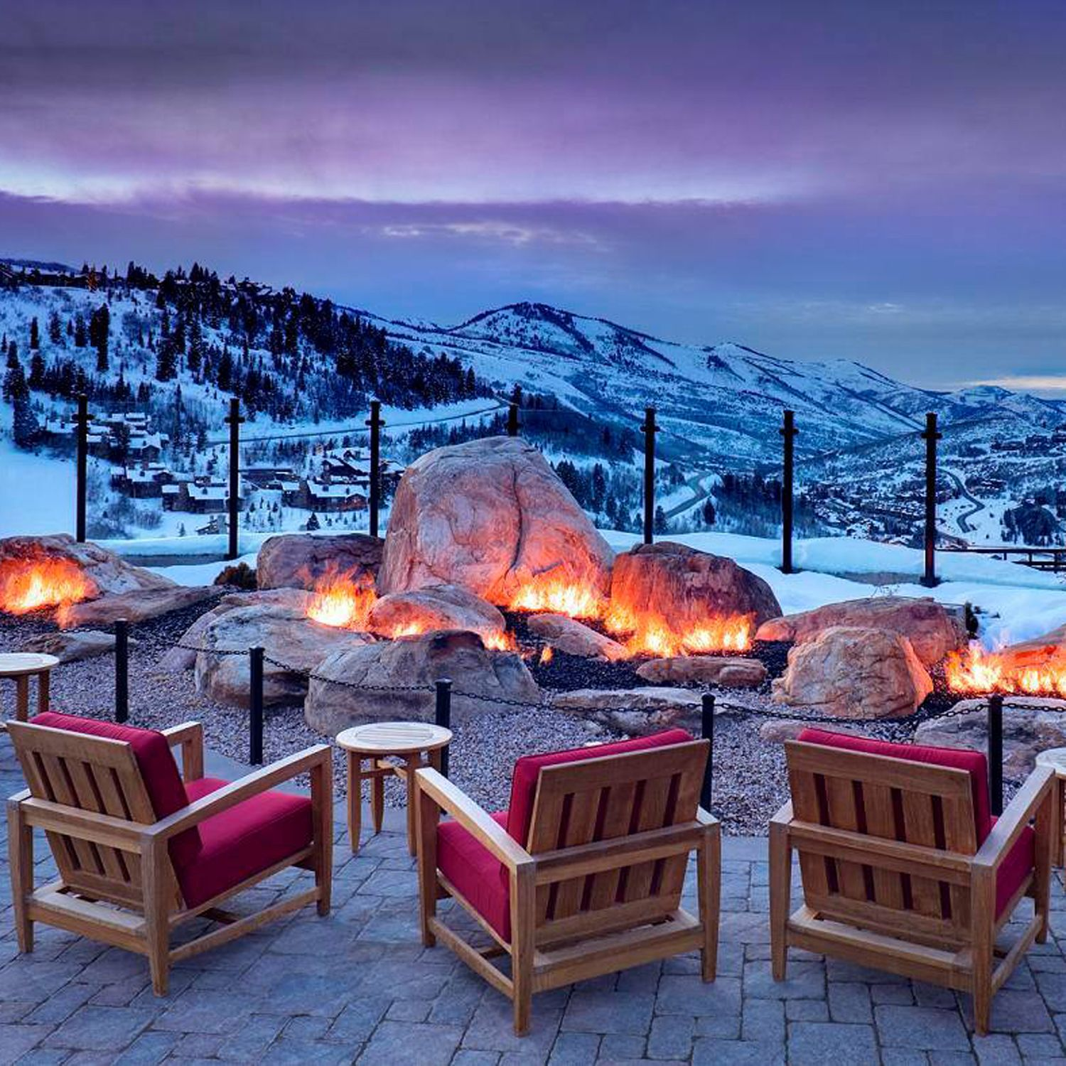 The 8 most luxurious mountain resorts in america for Best winter vacations in the us