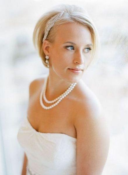 Wedding Hairstyles for Short Hair Brides   Wedding Hairstyles ...
