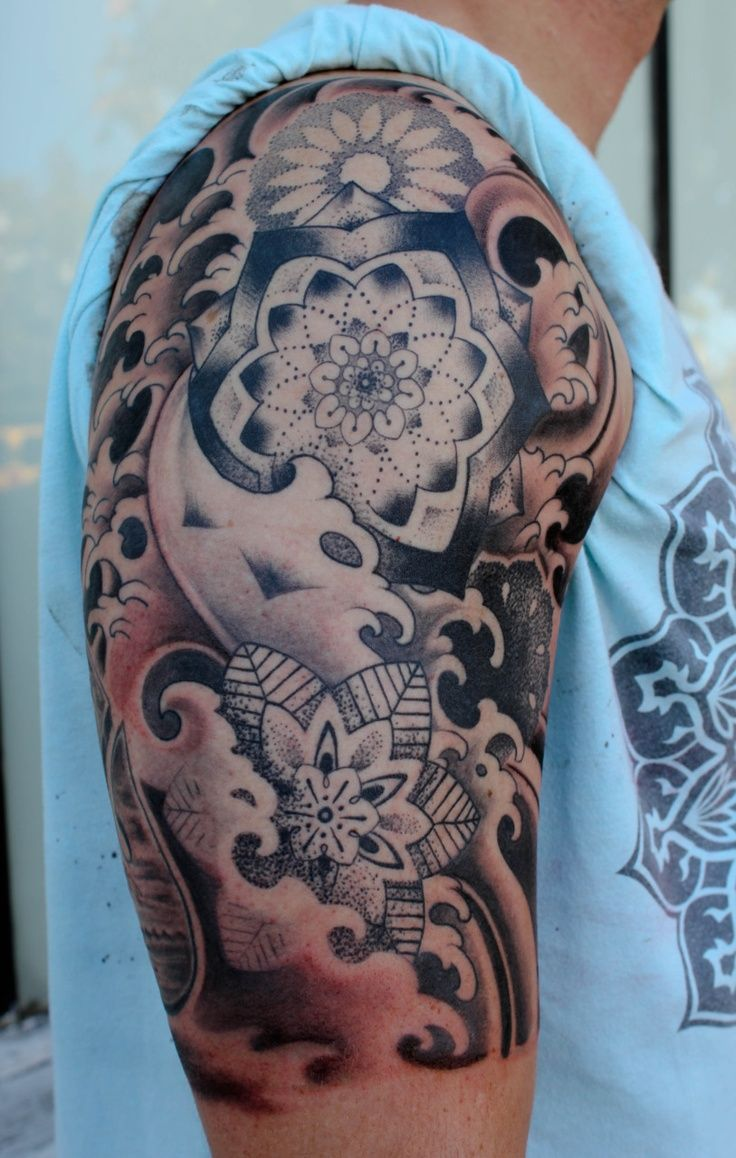 mandala half sleeve tattoo google search andreas g pinterest tattoo tattoo designs and. Black Bedroom Furniture Sets. Home Design Ideas