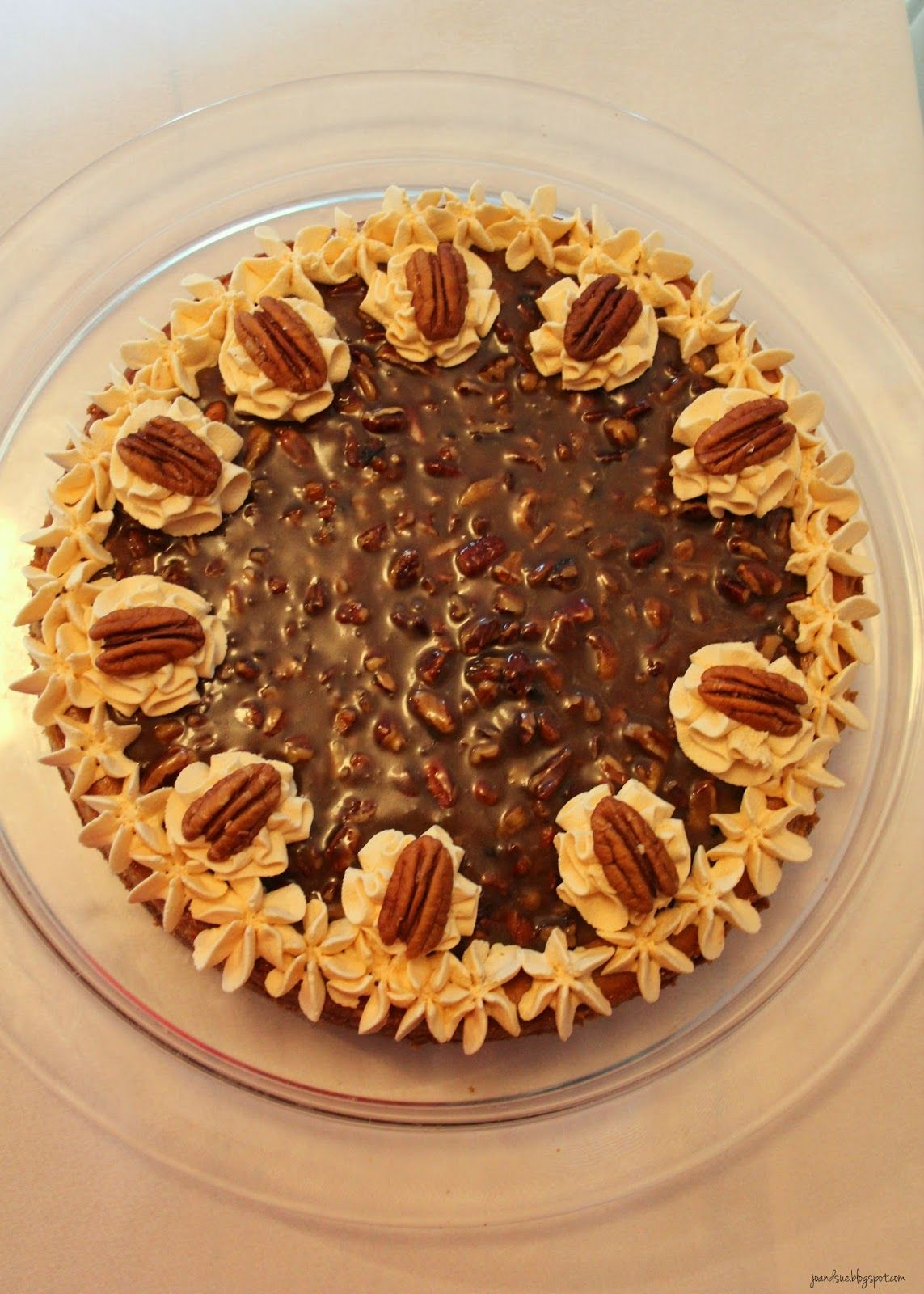 I would like to start off by apologizing. You see, this dessert will ruin you for all other desserts.   For realz.   Pecan Pie meets ch...