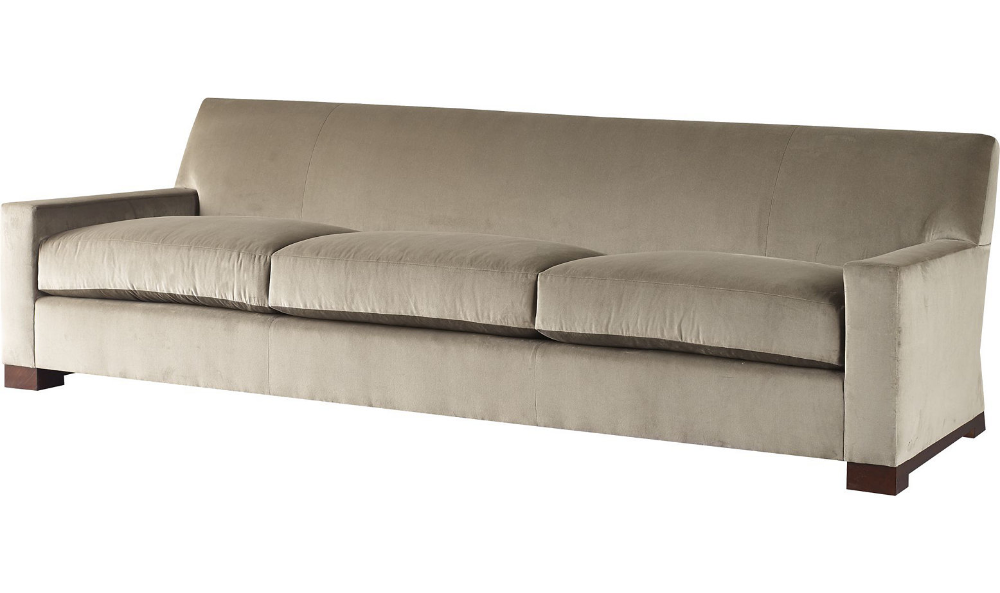 Wedge Sofa By Thomas Pheasant Ba6843s, Baker Used Furniture