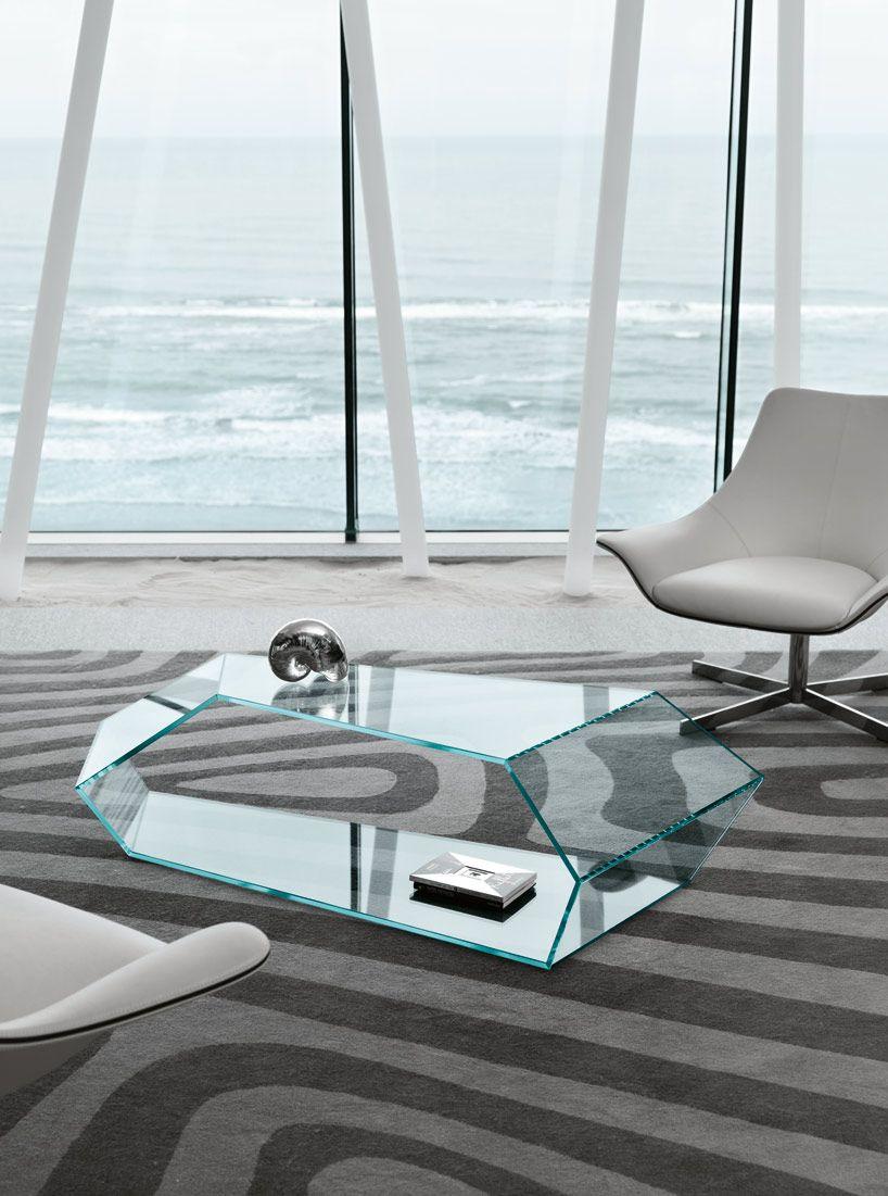 karim rashid overlaps glass surfaces for tonelli design ...