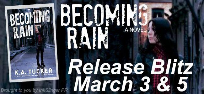 Romance and Fantasy for Cosmopolitan Girls: K.A. Tucker's BECOMING RAIN Release Blitz