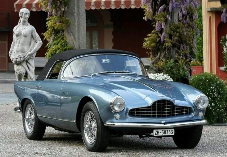1954 Aston Martin Db2 4 Bertone Spider Indiana Aston Martin Db2 Aston Martin Aston Martin Cars