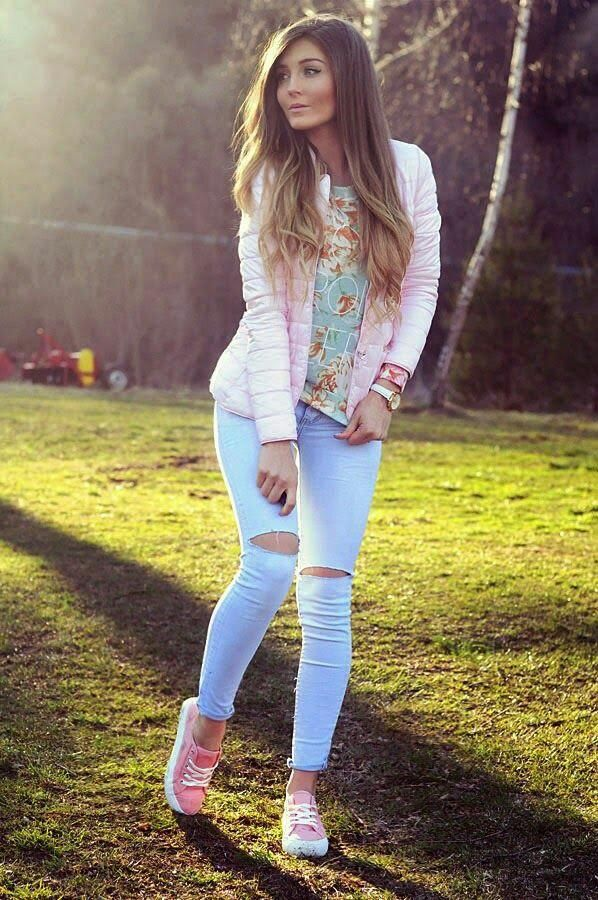 extraordinary outfit casual mujer frio 9