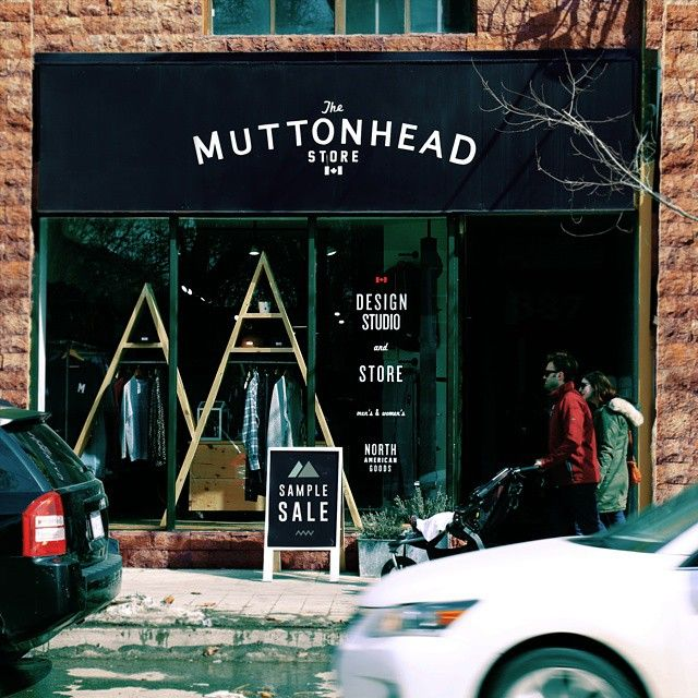 If you're in Toronto, roll by the Muttonhead Sample Sale this weekend @muttonheadstore