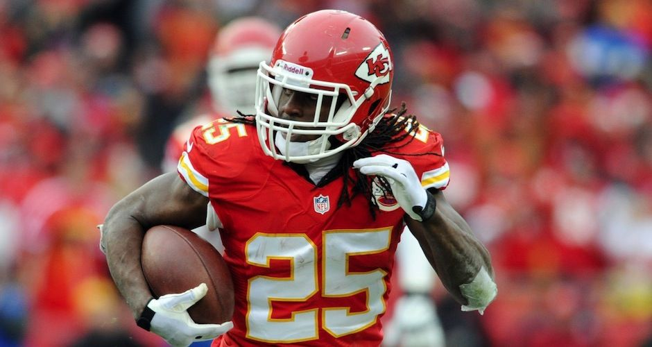 the man has foot works and speed. Kansas city chiefs