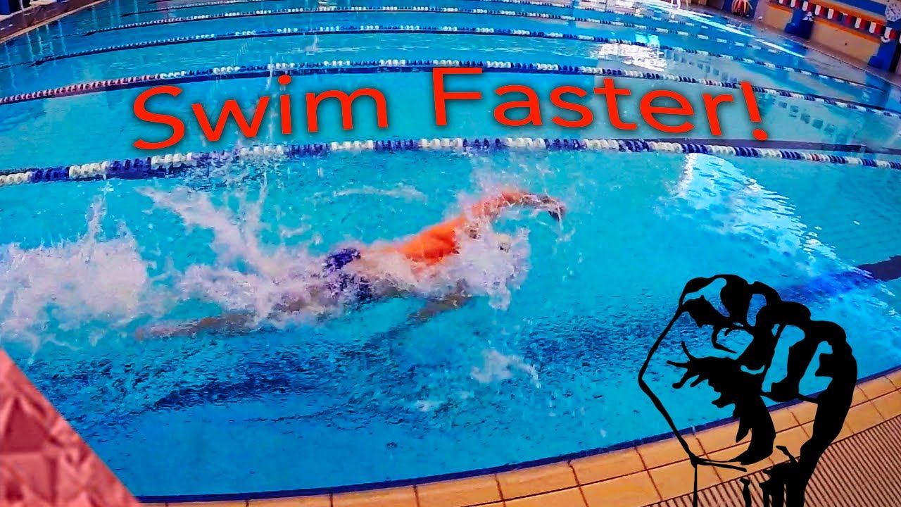 Swimming faster freestyle! Sprint drills/exercises to