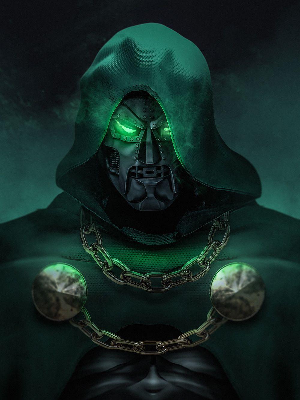 The Doctor Kode Lgx On Artstation At Https Www Artstation Com Artwork Nvzro Doctor Doom Marvel Doctor Doom Art Marvel Villains