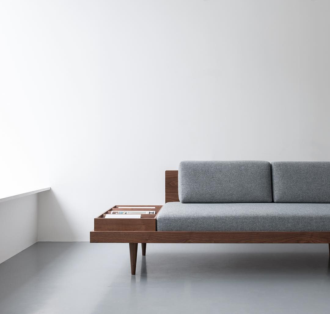Minimal Bed The Day Bed Designed By Namon Gaston For Instrmnt