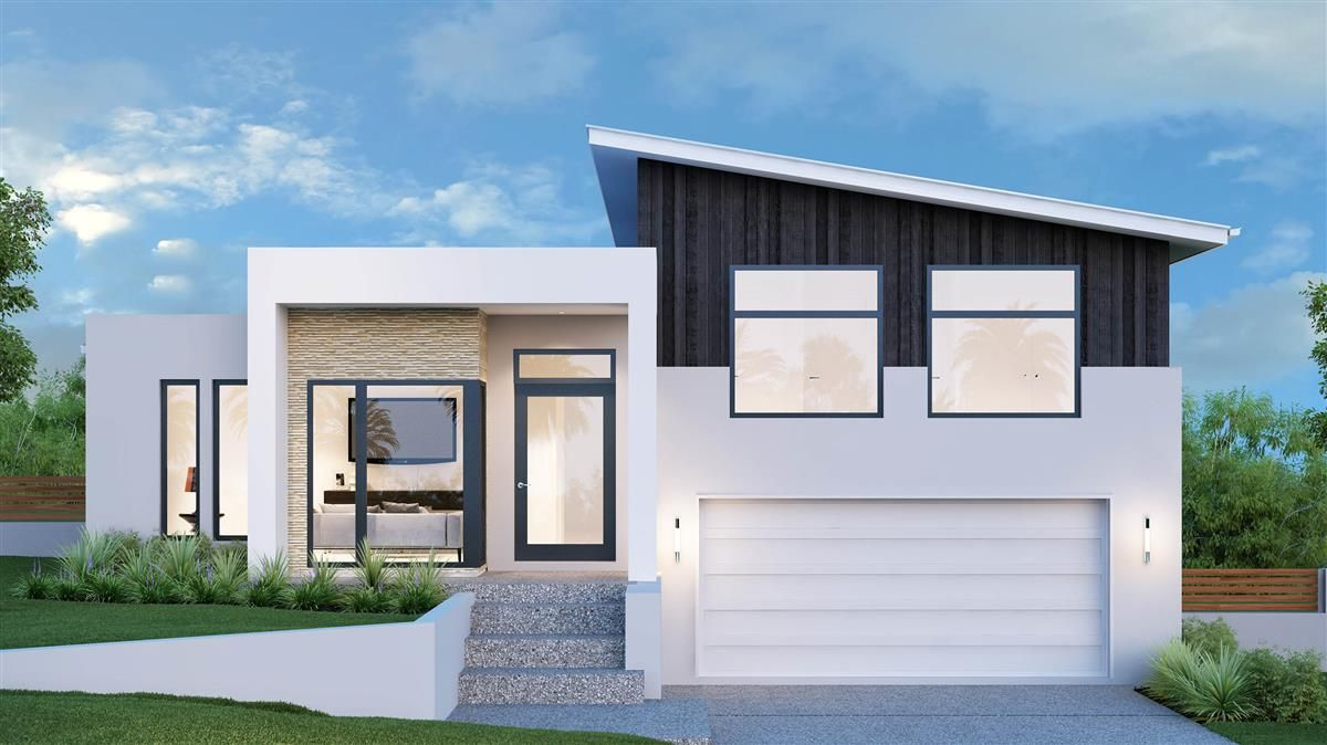 Regatta 264 Split Level Home Designs In Queensland Split Level Home Designs Facade House Split Level House Plans