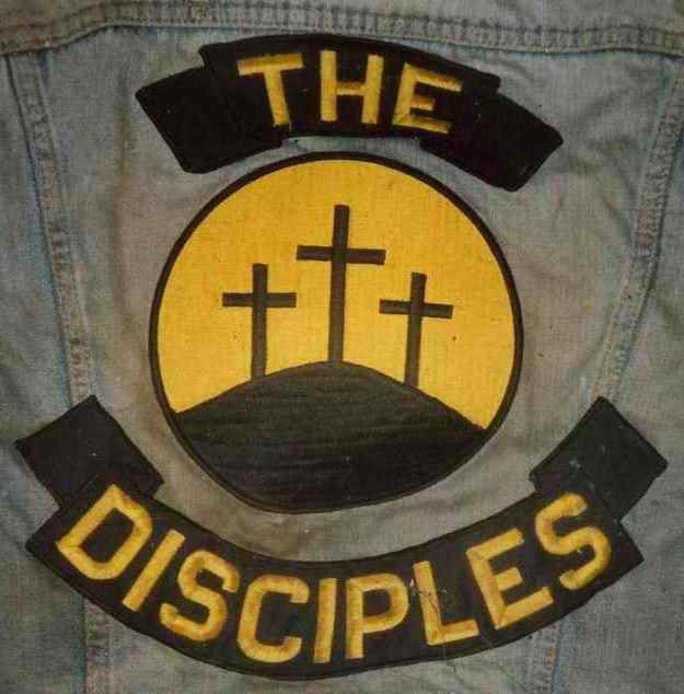 The Disciples MM | helmets | Motorcycle clubs, Biker love