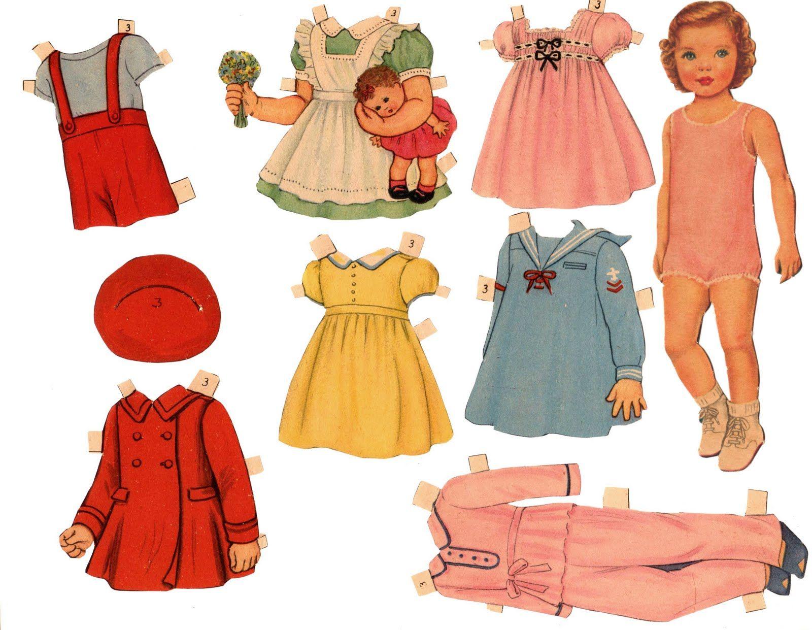 paper dolls - HD1572×1234
