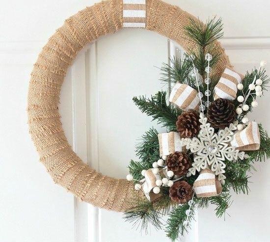 corona-de-adviento-chic-decoracion-de-navidad-en-Muebles-Marian.jpg (550×492)