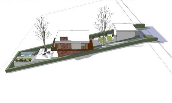 A Home Built On A Slope Interior Design Inspiration Eva Designs Arquitetura Casas Plantas De Casas Casas