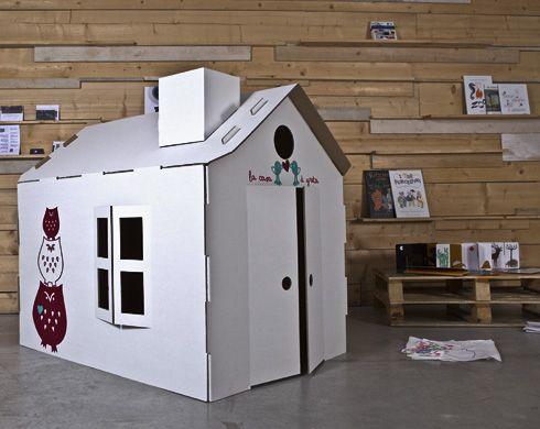 Le casette in cartone per bambini playhouse fairy garden and