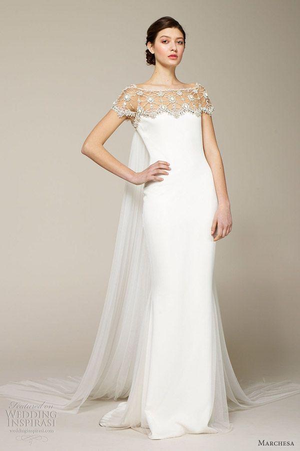 Marchesa Spring 2013 Wedding Dresses