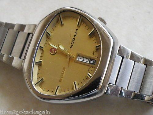 Rare Vintage Rado Ncc 404 Gents Automatic Watch Just Serviced Very Retro Orologio Watches Orologio Automatico