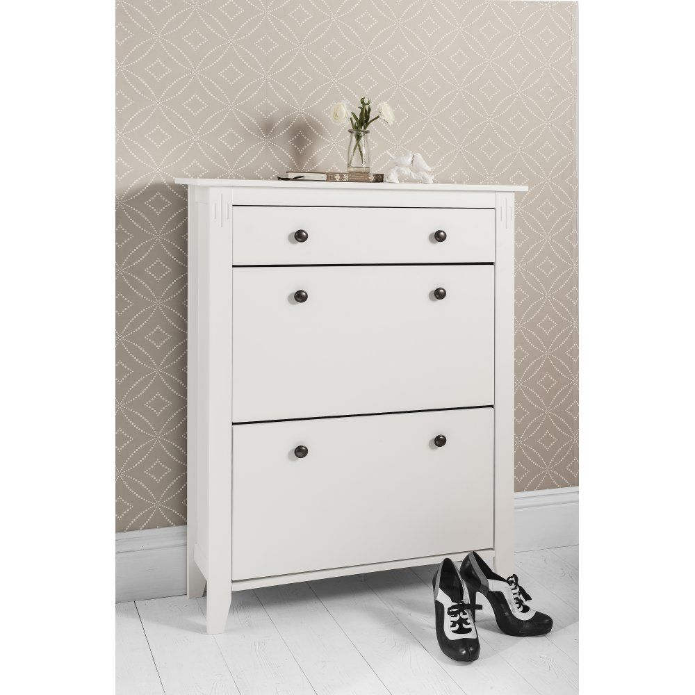 Genial Noa And Nani Cotswold Shoe Storage Unit In White   Shoe Cabinet